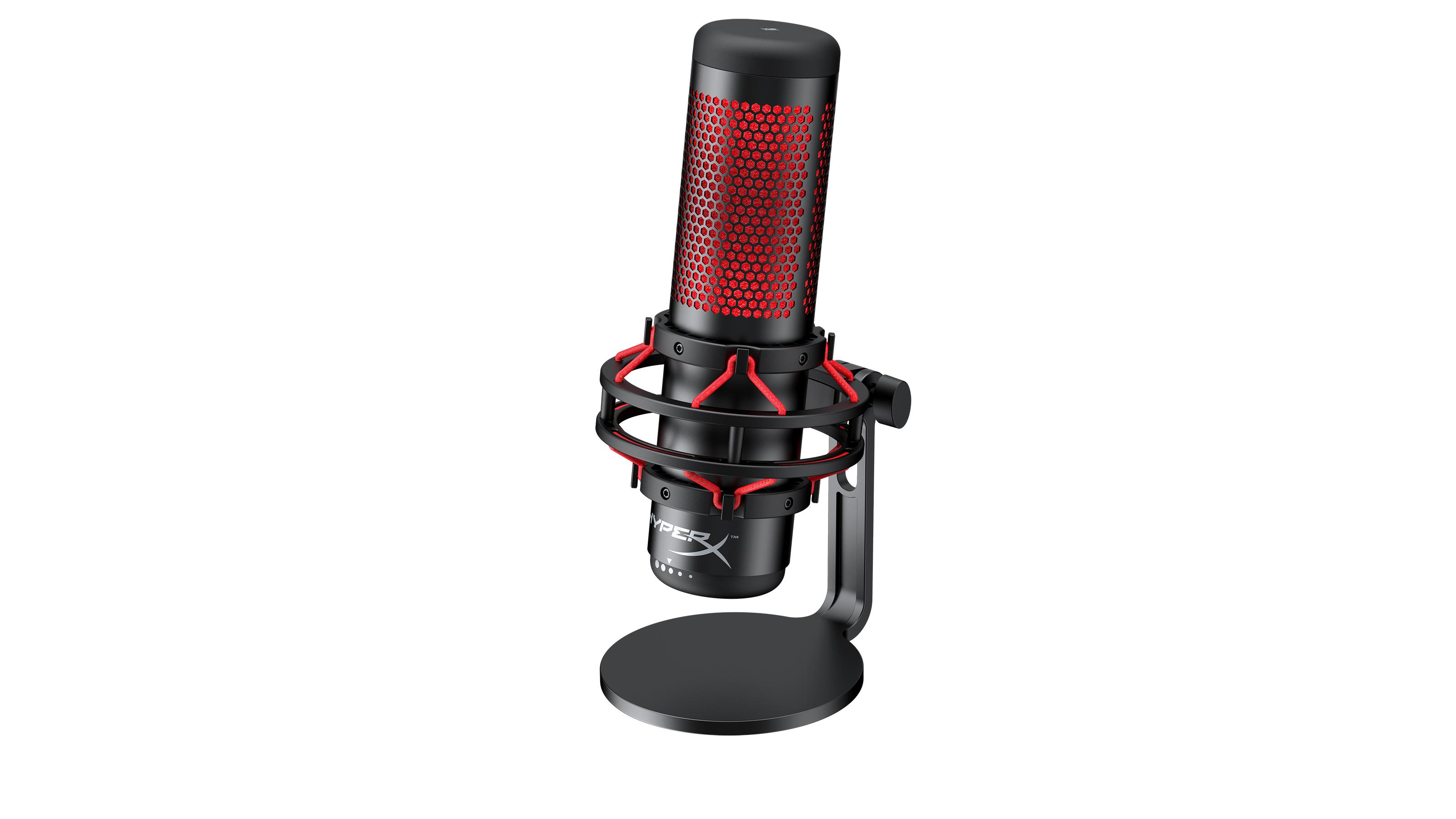 HyperX | Empresa lança no Brasil seu primeiro microfone 'HyperX Quadcast'