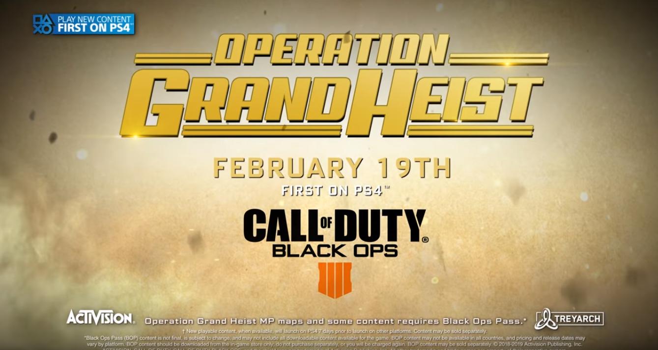 Activision   Nova temporada em Black Ops 4 chega com muitas novidades
