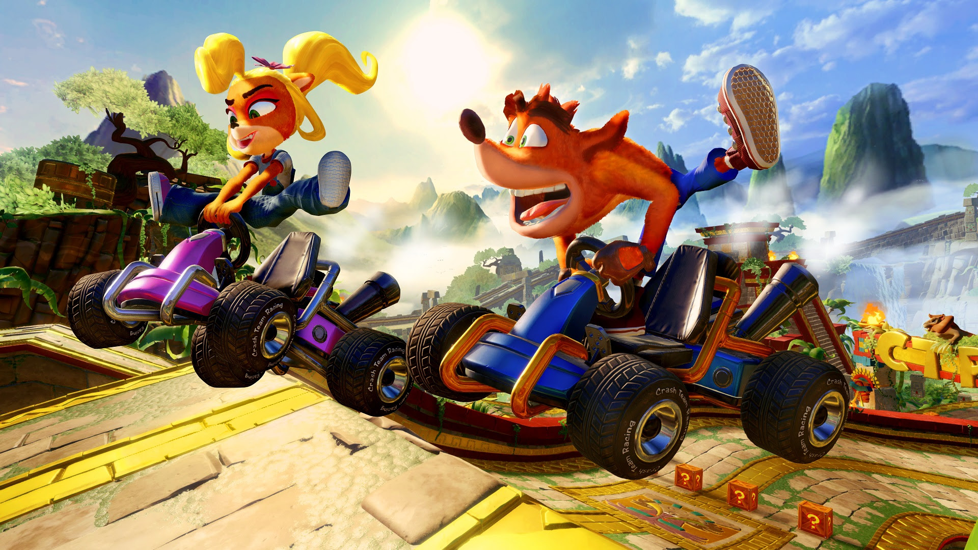Crash Team Racing : Nitro-Fueled | é lançado hoje com oportunidade de customizar karts e personagens!