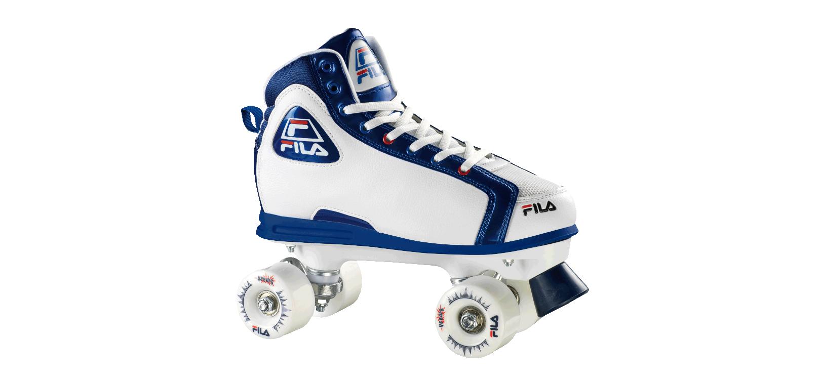 Fila | Lança patins em formato de tênis clássico dos anos 90