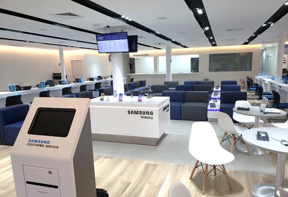 Samsung   Aposta em serviço diferenciado com foco no cliente