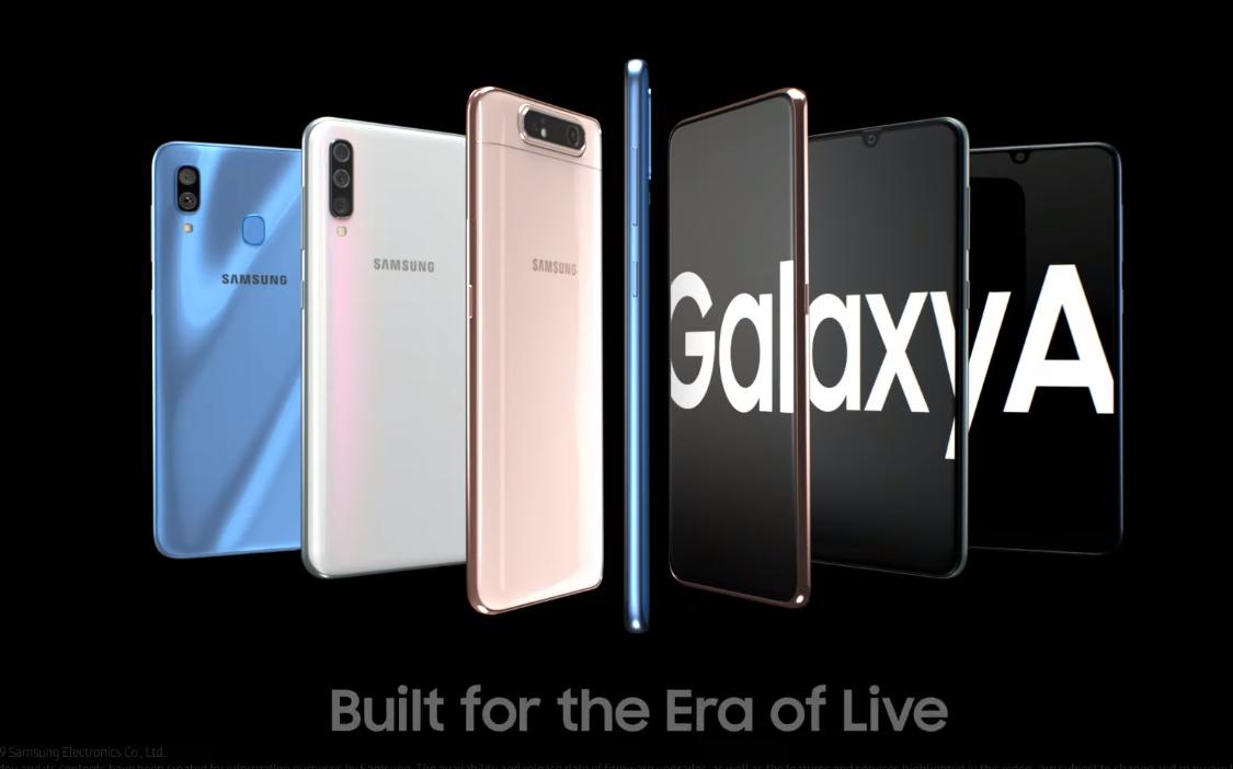 Samsung | Confira os novos integrantes da linha Galaxy A