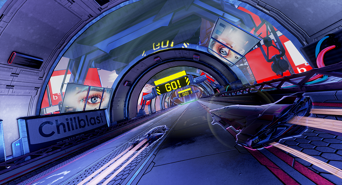 R8 Games   Pacer o novo jogo de corrida com combate futurista