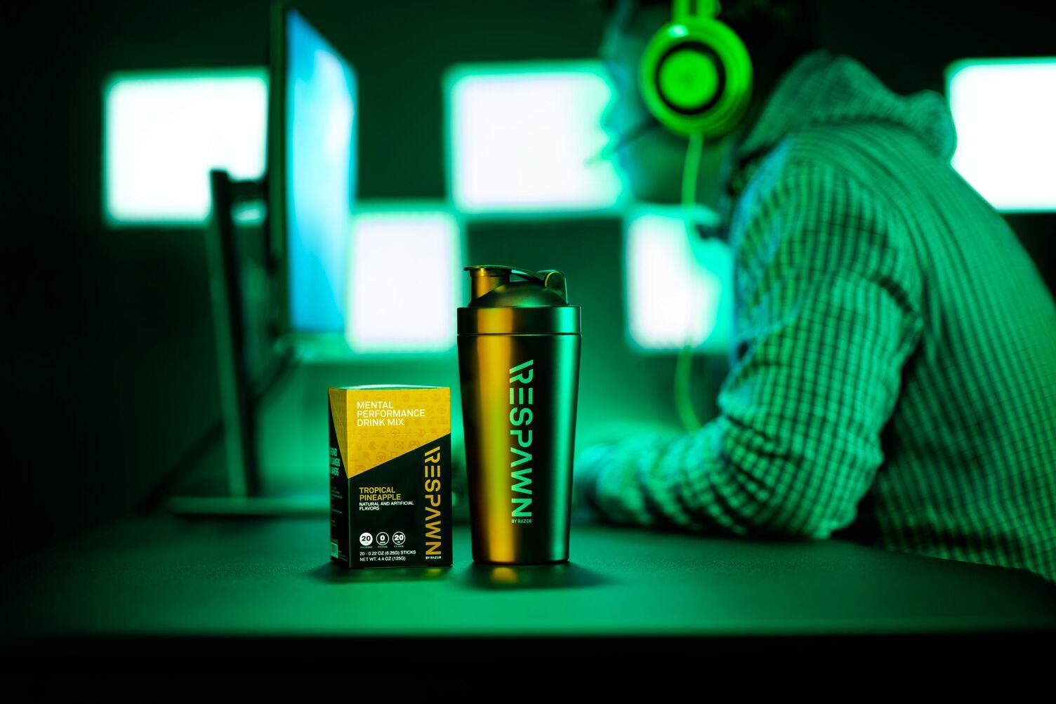 """Razer anuncia """"Respawn"""", uma bebida feita para melhorar a performance mental dos gamers"""