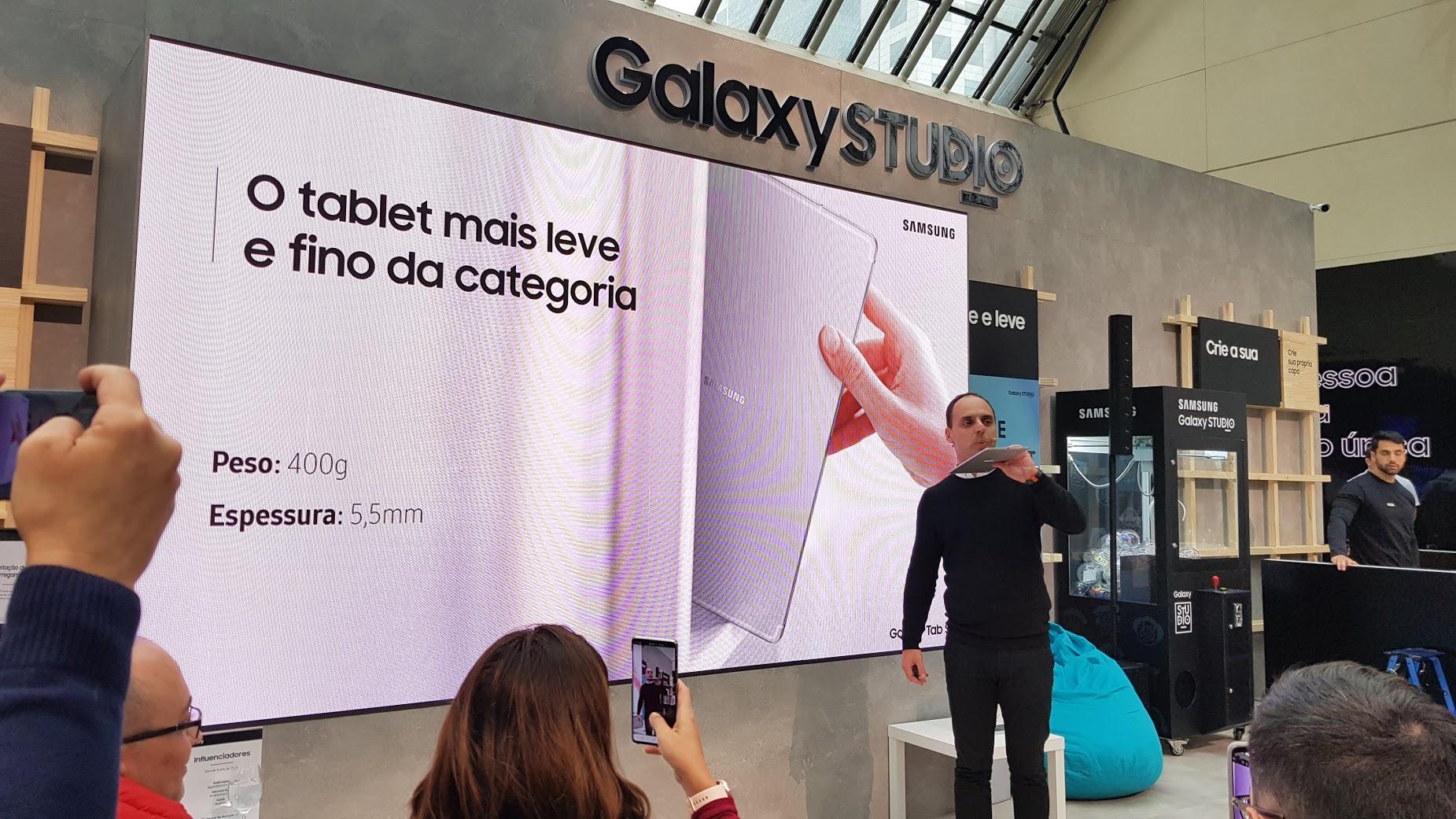 Nova linha de tablets da Samsung chegam ao Brasil e destacam-se pela espessura dos aparelhos