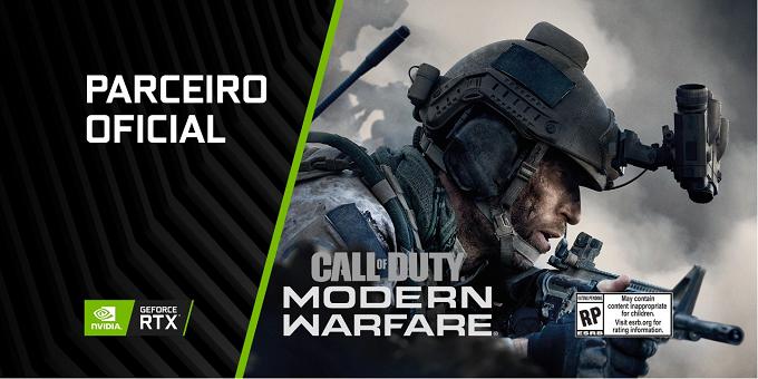 NVIDIA | COD: Modern Warfare terá DirectX Raytracing da linha RTX