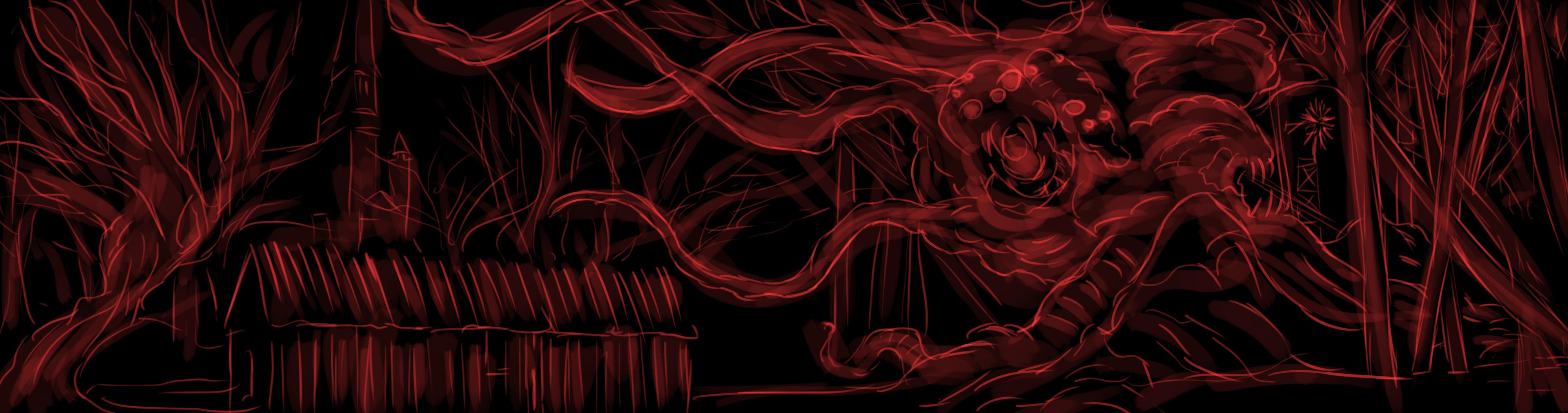 (5 CONTOS OBRIGATÓRIOS de Lovecraft) Arte por Lívia Serrano