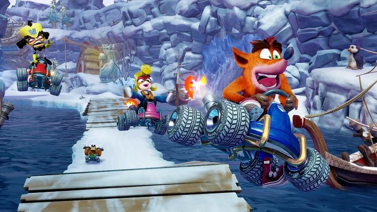 Crash Team Racing:Nitro Fueled | Confira o novo Trailer de Lançamento