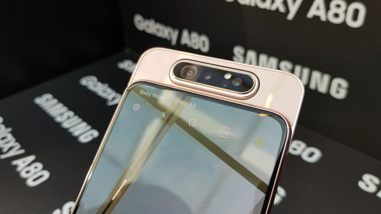 Análise Samsung Galaxy A80 | Display infinito, câmera única, mas o preço desagrada!