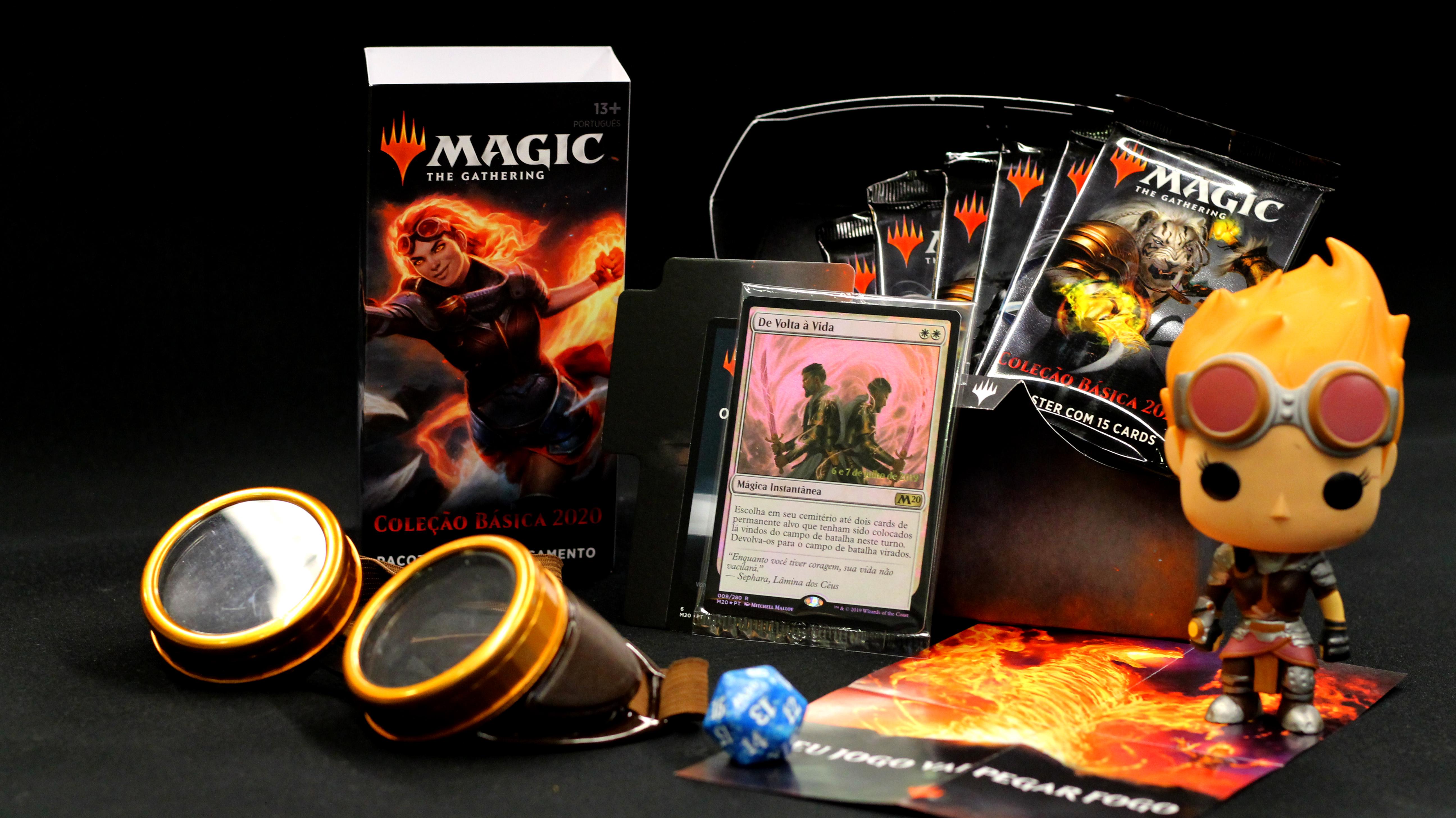 Magic: The Gathering | Pré-lançamento da Coleção Básica 2020 acontece neste final de semana