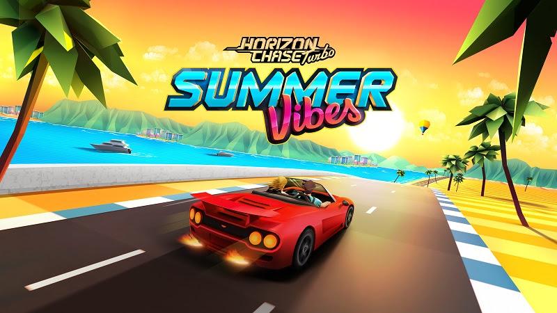 AQUIRIS | DLC Summer Vibes e novo veículo disponível em Horizon Chase Mobile