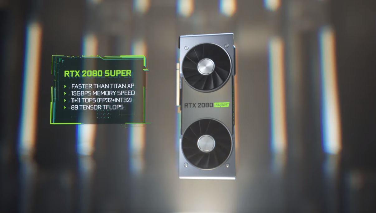 NVIDIA | Novas placas de vídeo GeForce RTX SUPER são anunciadas