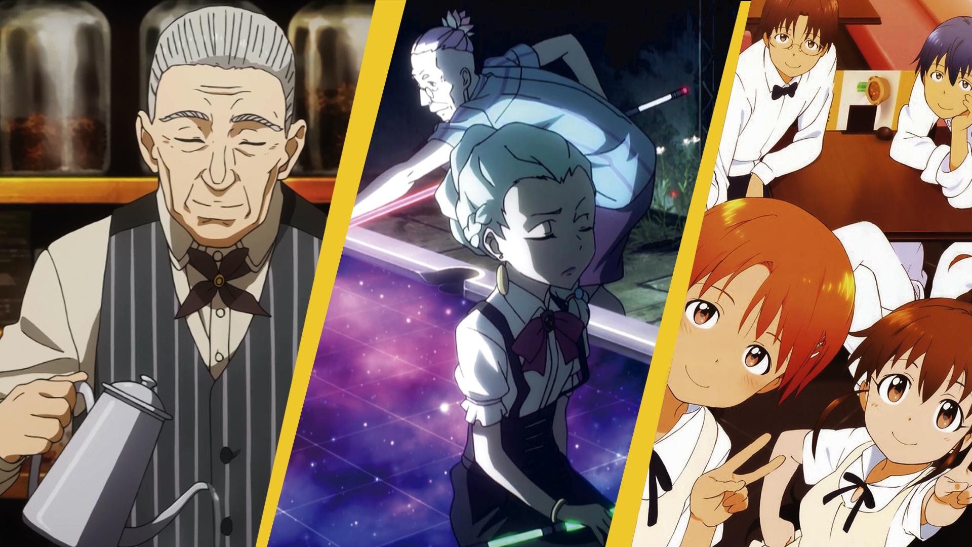 5 cafeterias mais inesquecíveis no mundo dos animes!