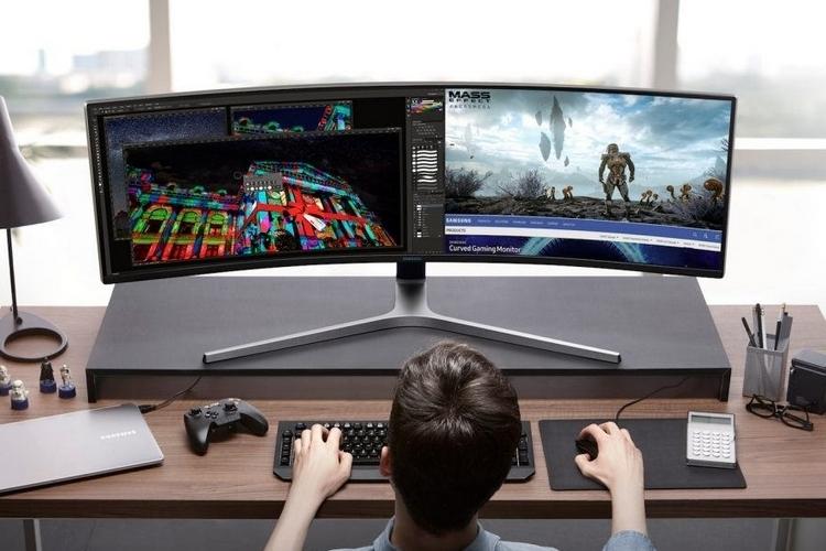 Samsung   Monitor curvo para o trabalho vale a pena?