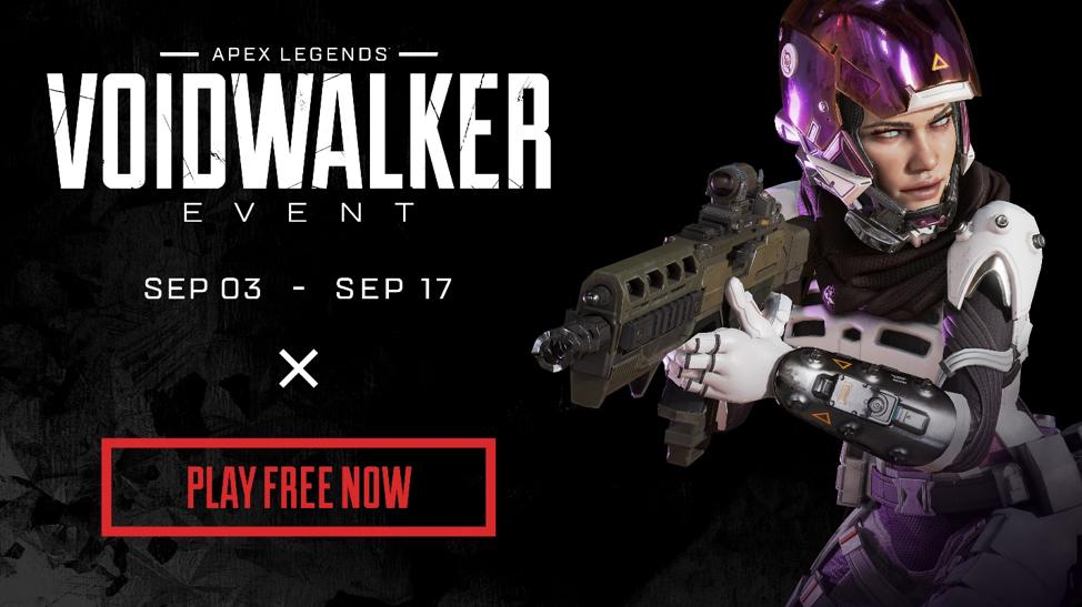 Voidwalker é o novo evento que chega no Apex Legends em Setembro