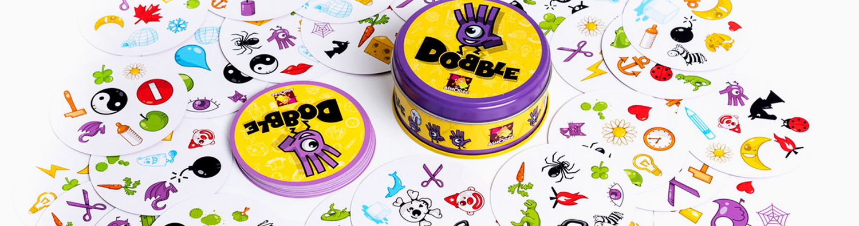 Dobble - 7 Jogos INCRÍVEIS de tabuleiro para jogar com a família!