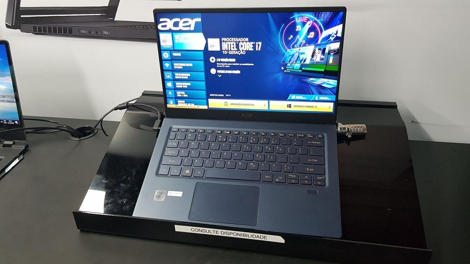 BGS 2019 | Intel apresenta a 10ª geração de processadores em notebooks da Acer