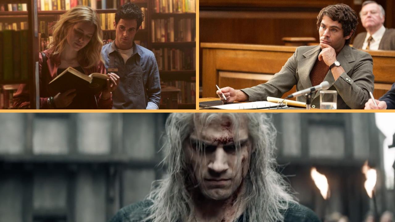 'The Witcher', 'You', 'Ted Bundy' são destaques no catálogo da Netflix no mês de dezembro!