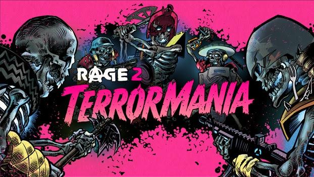 A segunda expansão TerrorMania em RAGE 2 chega em Novembro!