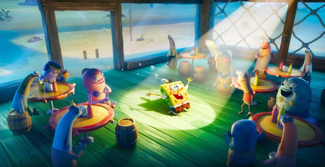 Paramount | Bob Esponja: O Incrível Resgate recebe trailer e pôster oficial