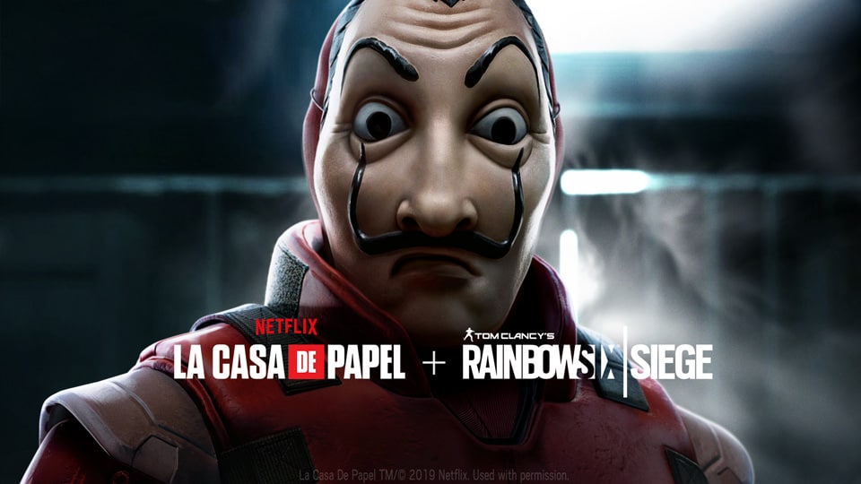 Ubisoft | Rainbow Six Siege recebe evento gratuito baseado em La Casa de Papel