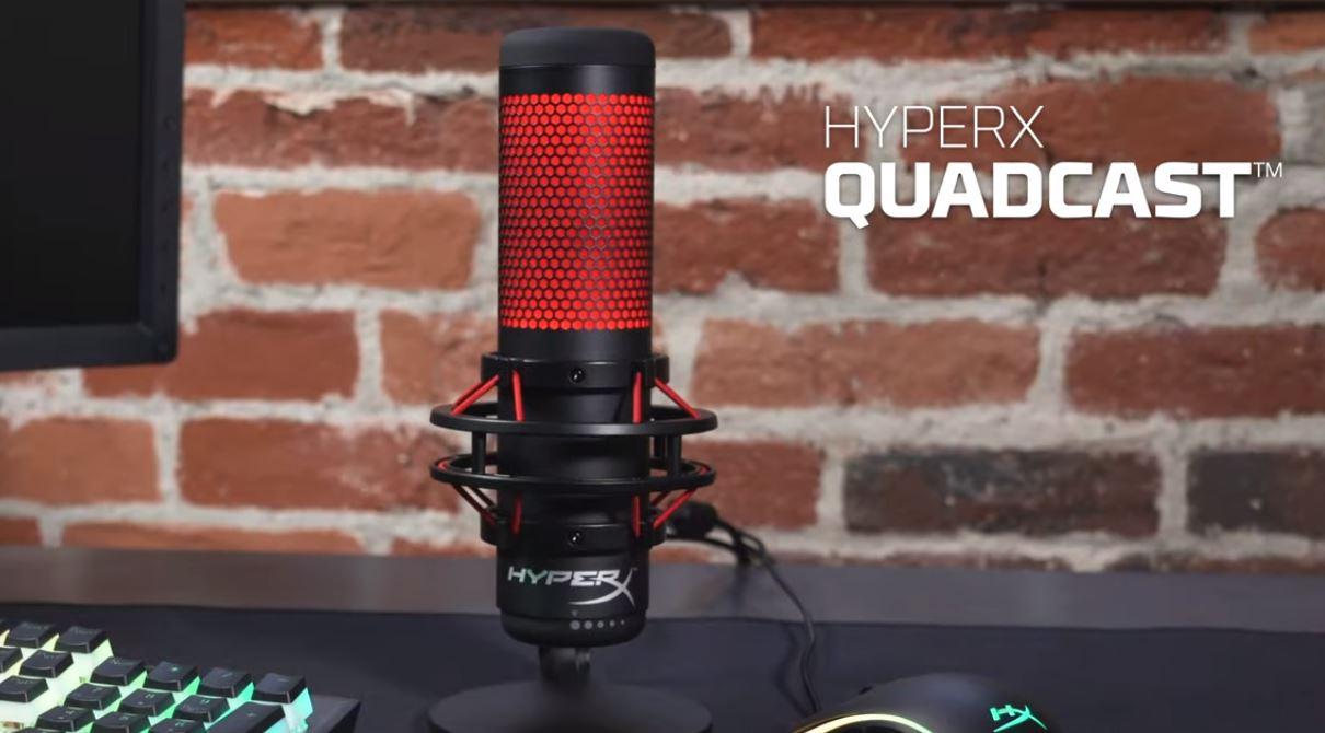 Análise | 'HyperX Quadcast' um microfone autônomo e de grande valia para jogadores e streamers