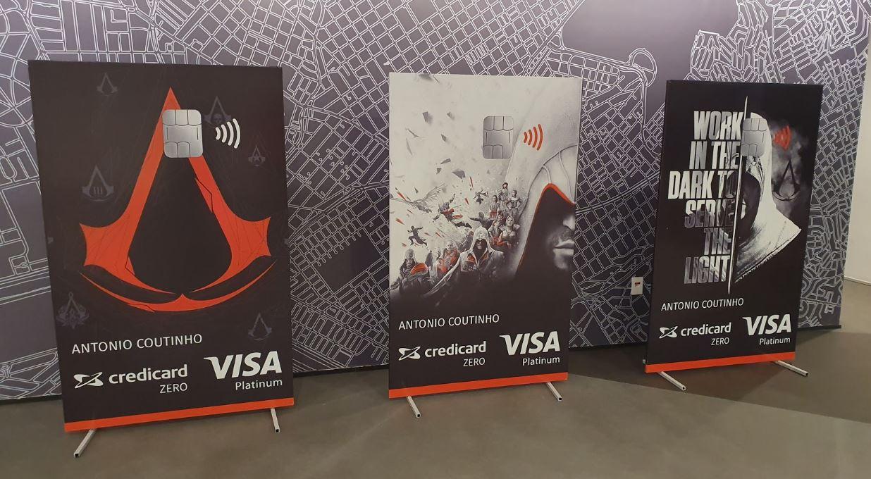 Credicard e Ubisoft | Realizam parceria e lançam cartão baseado em Assassin's Creed