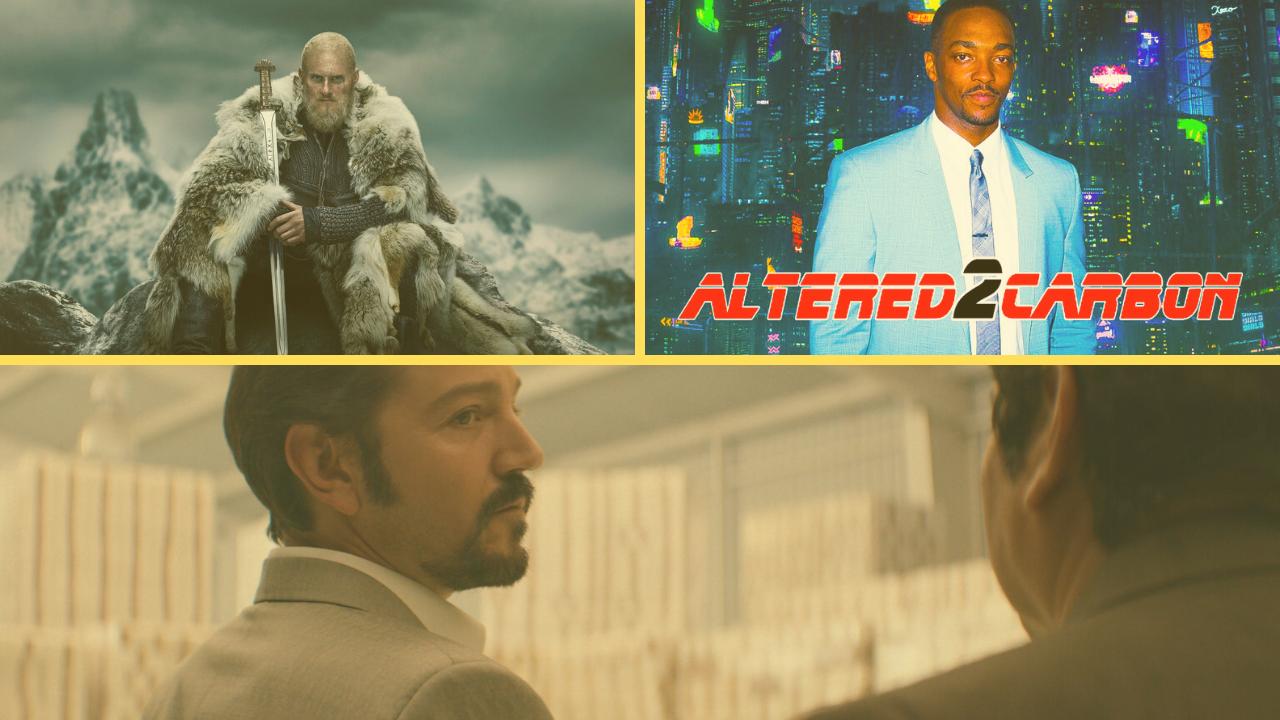 'Altered Carbon', 'Vikings' e 'Narcos' são destaques no catálogo da Netflix em fevereiro