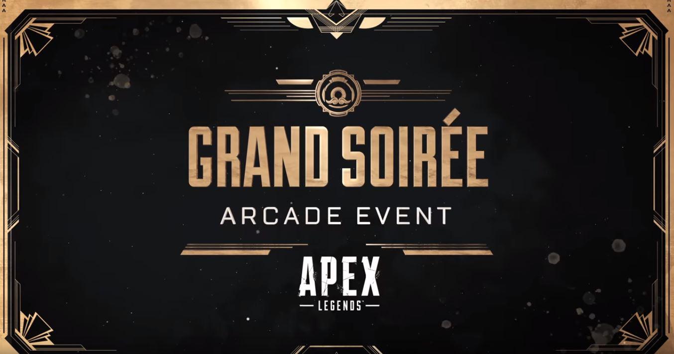 EA | Apex Legends recebe novo evento chamado ARCADE GRANDE SOIRÉE