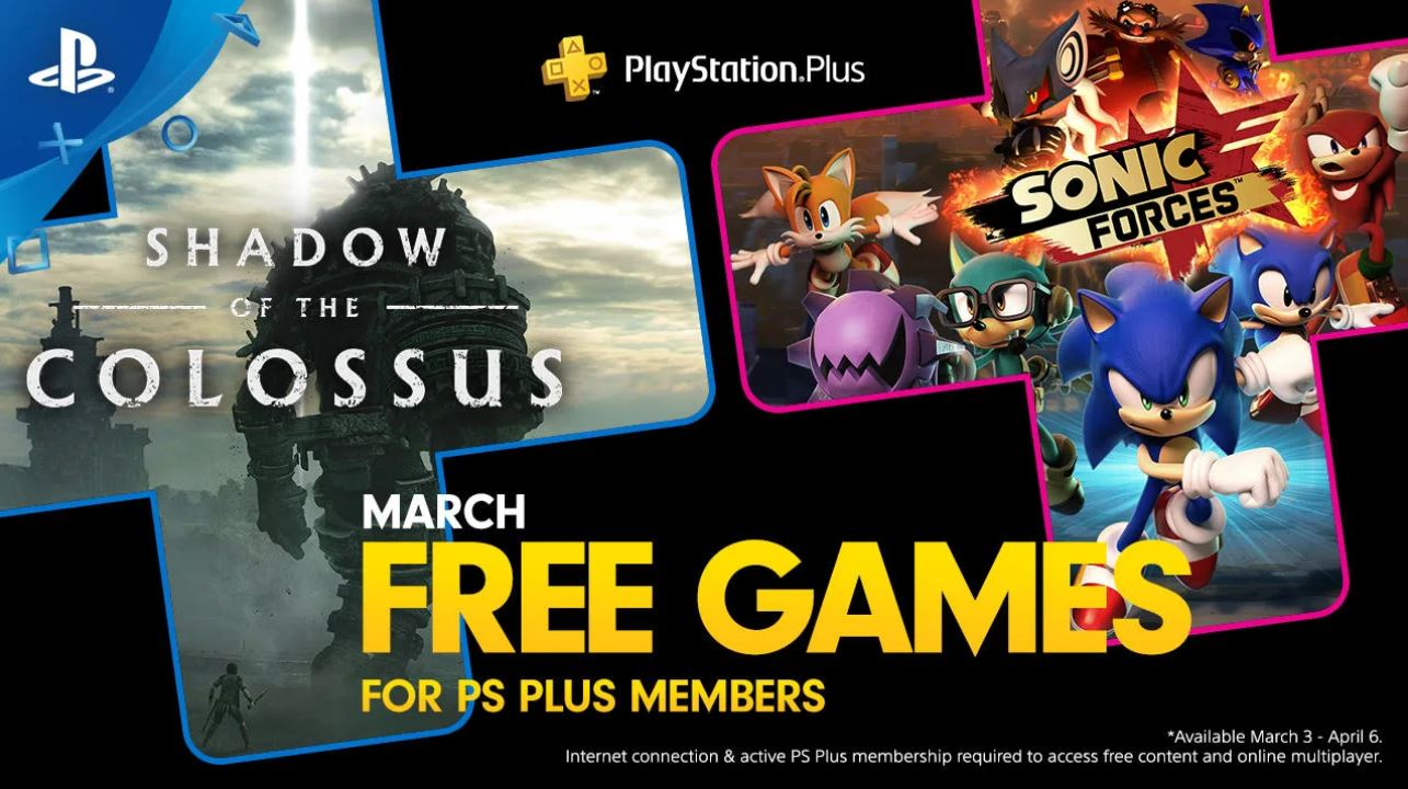 Playstation | Jogos para os assinantes da PS Plus de Março são revelados