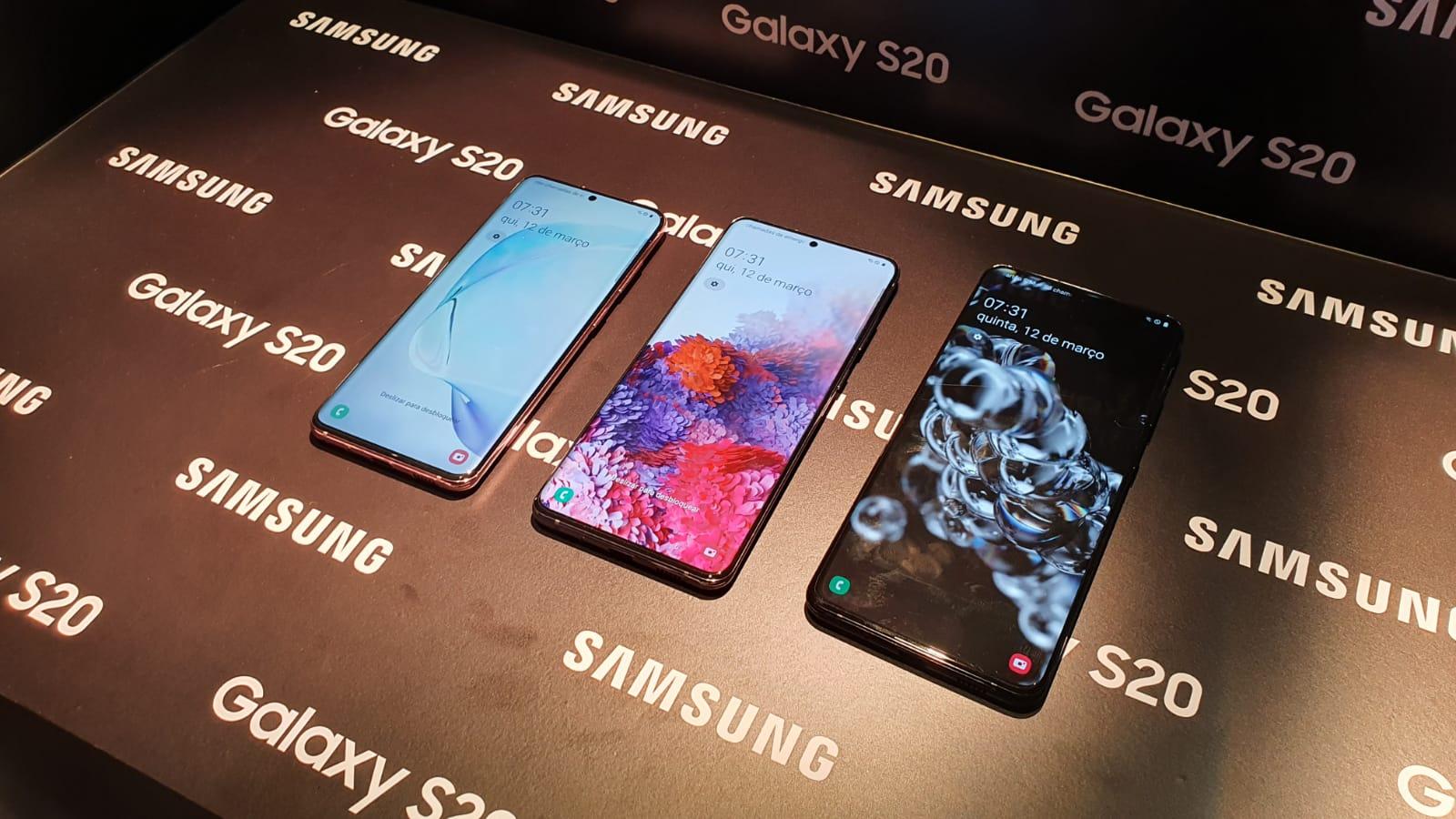 Galaxy S20 | Os novos celulares da Samsung são lançados no Brasil com preços até R$ 8.499