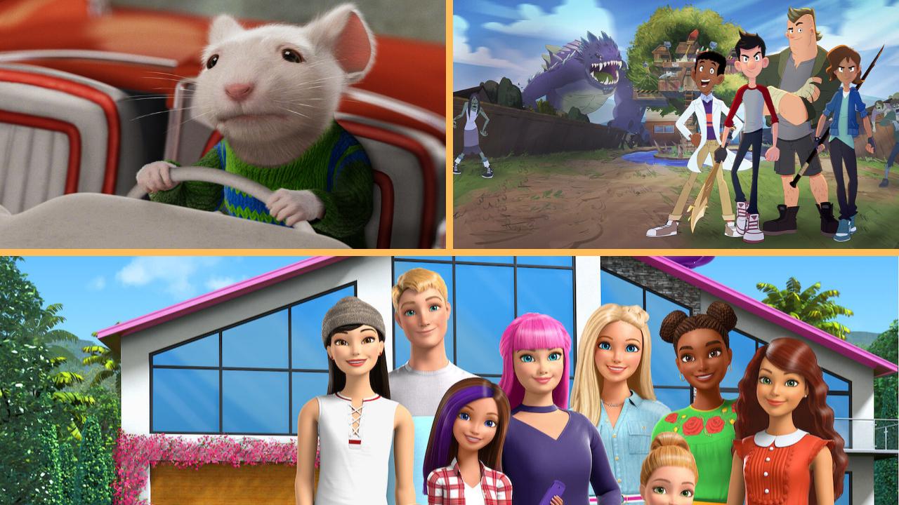 10 atrações para você assistir com as crianças e família neste mês de abril na Netflix