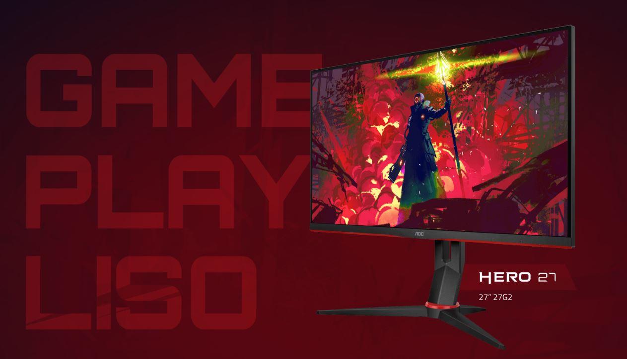 AOC | Lançada nova linha 2020 dos modelos de monitor gamer Hero