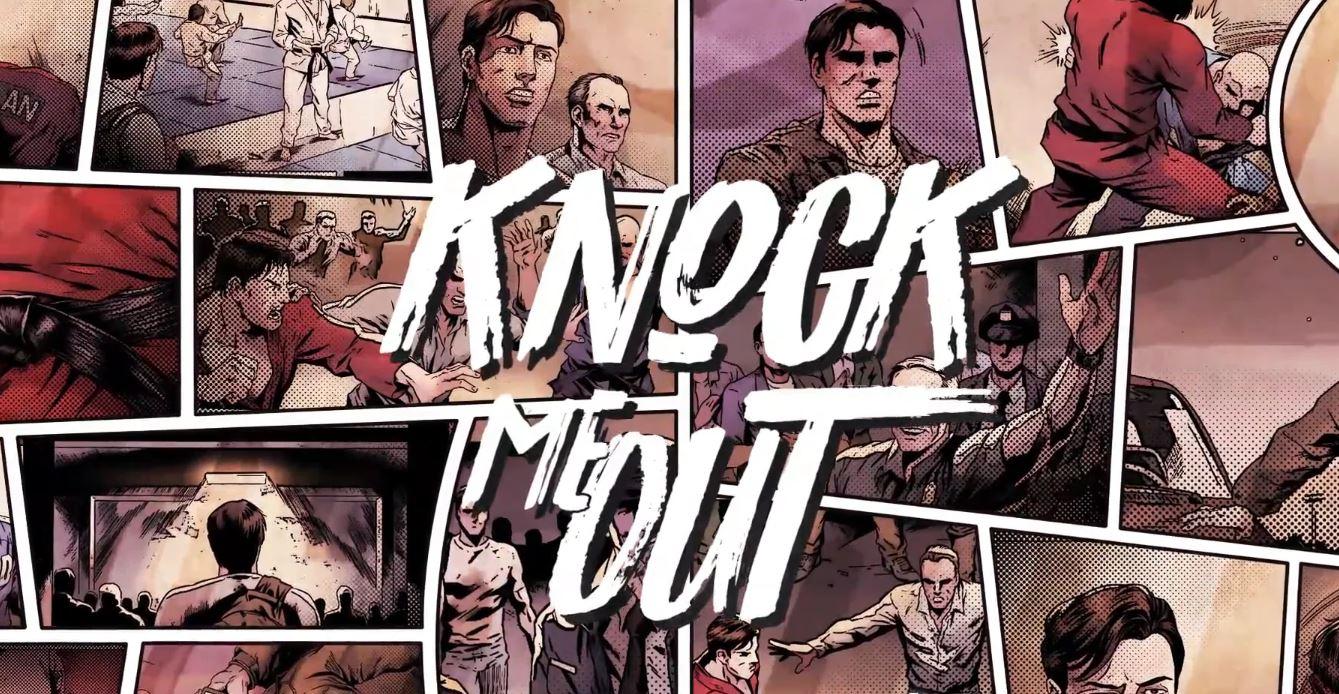 Felipe Folgosi lança a campanha da graphic novel Knock Me Out