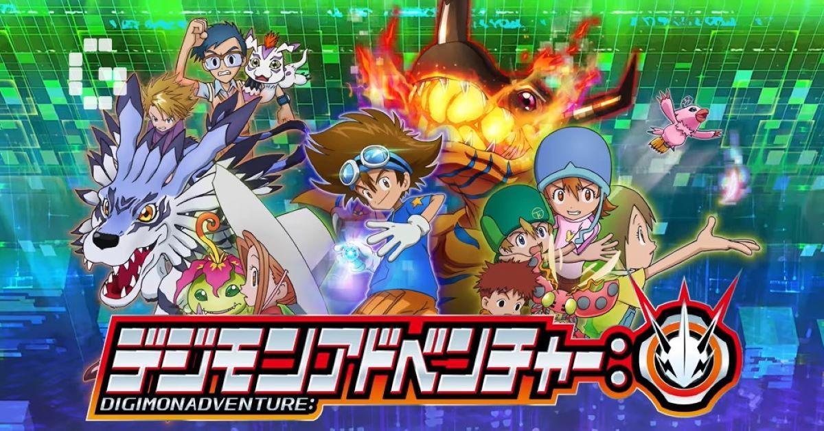 Digimon Adventure foi anunciado oficialmente na plataforma Crunchyroll
