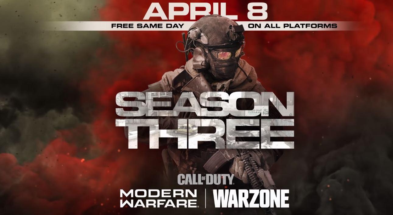 Activision | Conteúdo da temporada 3 em Call of Duty Modern Warfare é revelado
