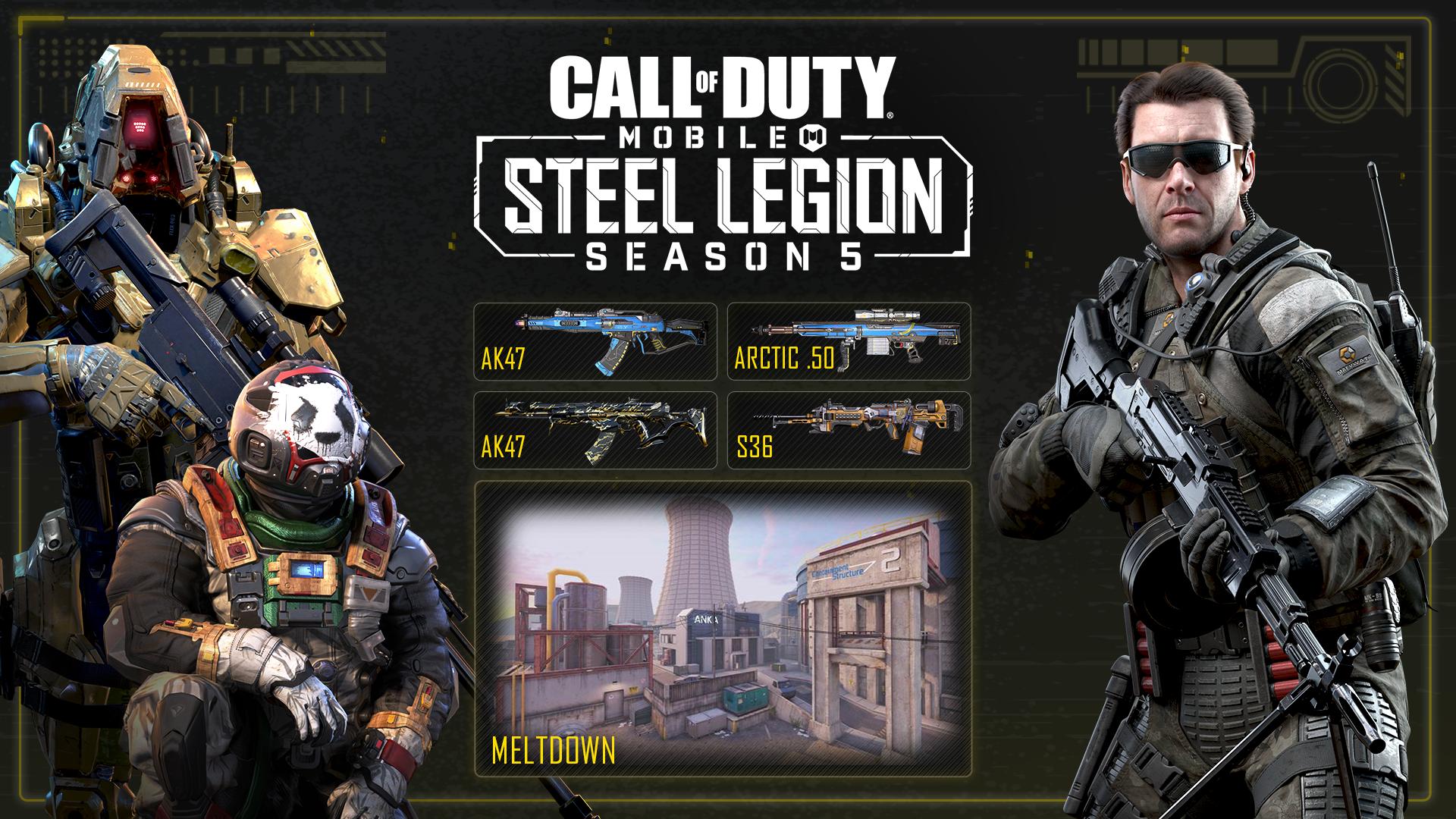 Activision | Temporada 5 chegou oficialmente em Call of Duty: Mobile