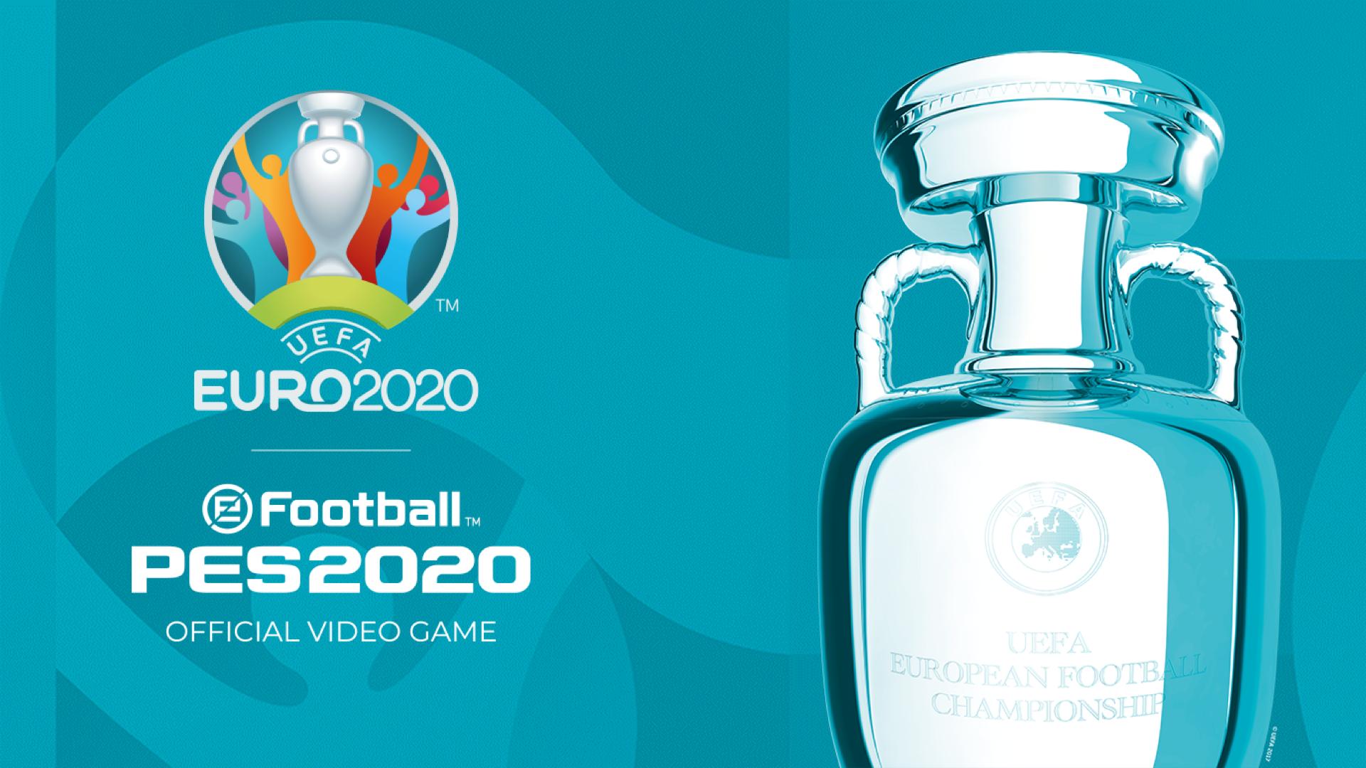 Konami   DLC UEFA EURO 2020 chega em junho no eFootball PES 2020