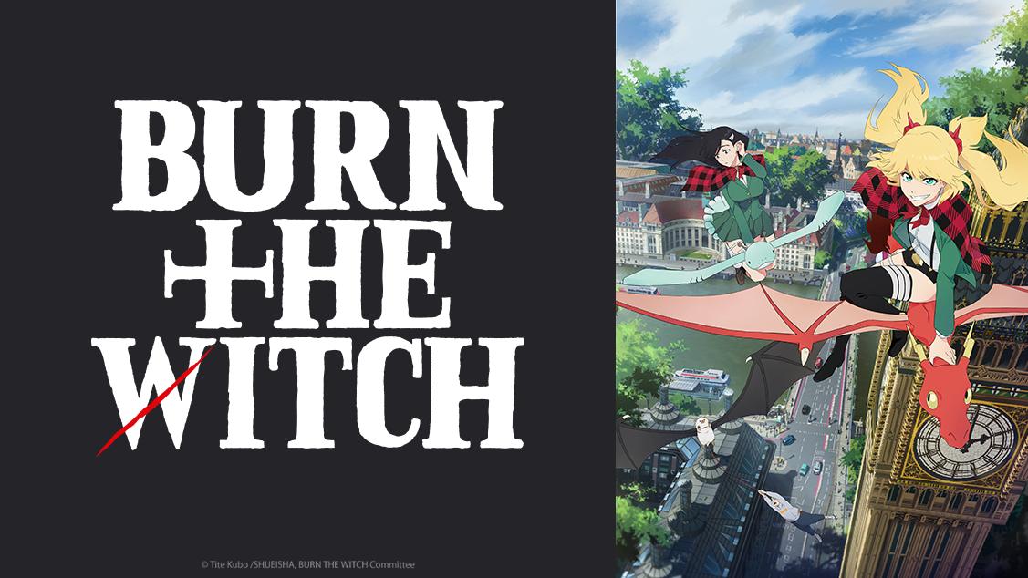 Crunchyroll | BURN THE WITCH será lançado em outubro