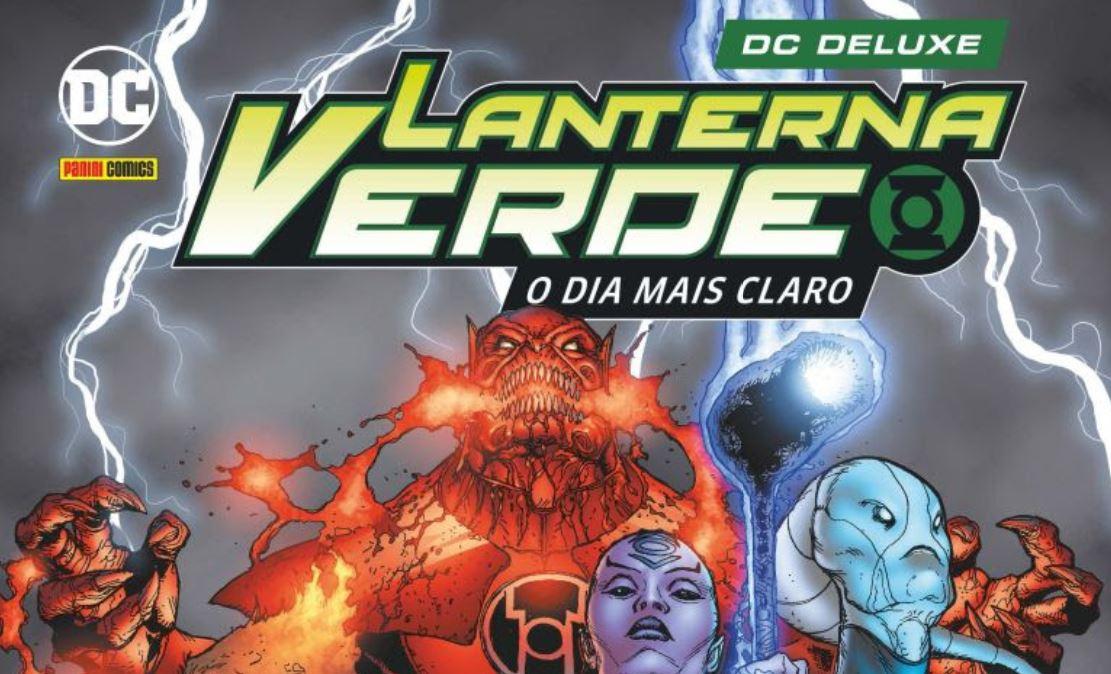 Panini | Lanterna Verde: O Dia Mais Claro é lançado no Brasil