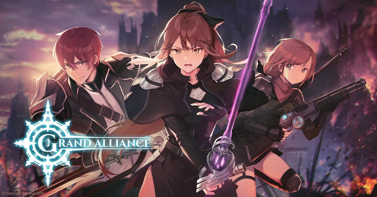 Crunchyroll Games | Anunciado oficialmente o RPG de ação Grand Alliance