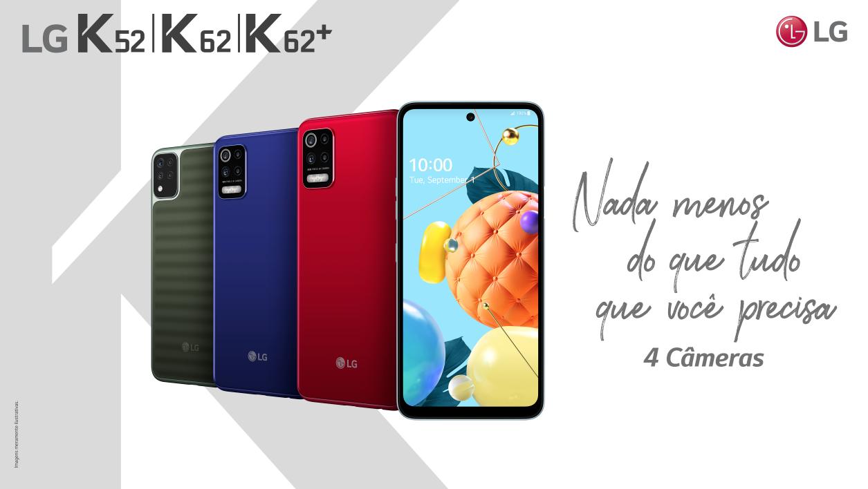 LG | Novos smartphones da linha K 2020 são anunciados no Brasil