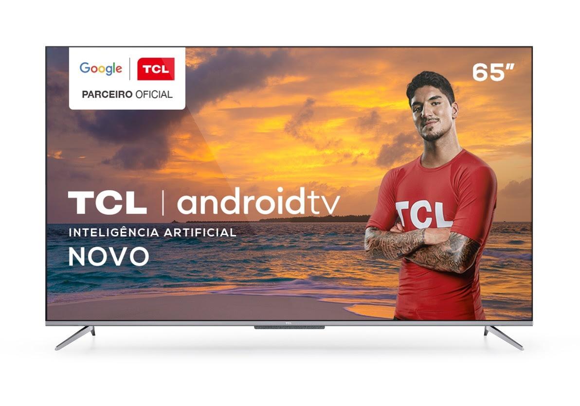 TCL | Empresa lança Android TV 4K com controle por voz à distância