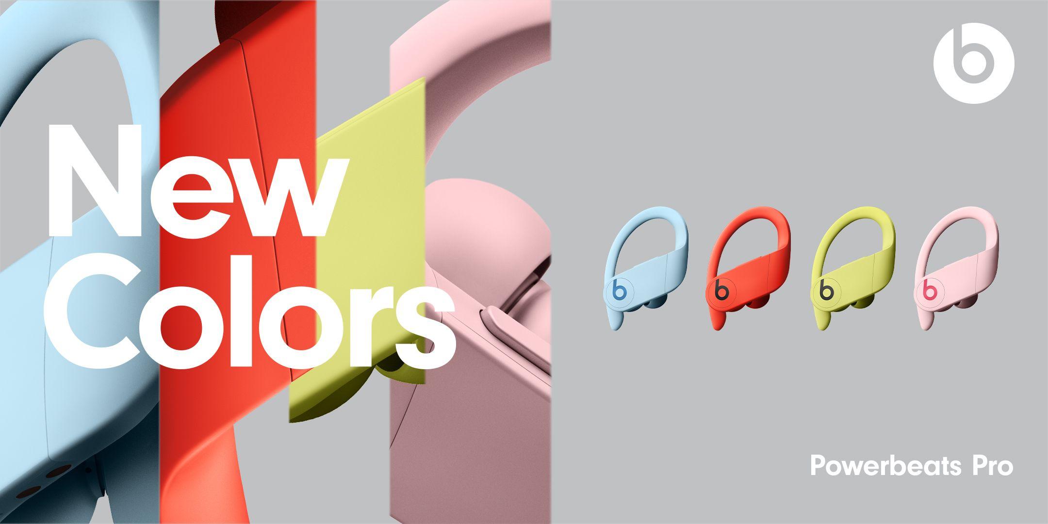 Beats | Empresa apresenta novas cores do Powerbeats Pro