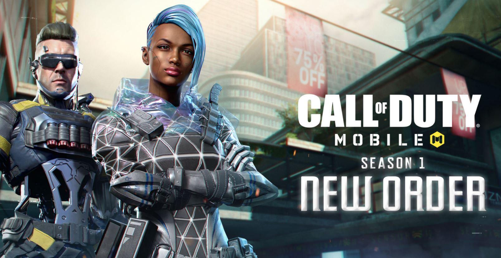 Actvision | Temporada 1: Nova Ordem chega em Call of Duty Mobile