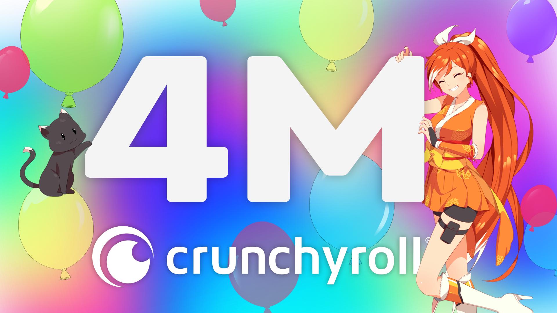 Crunchyroll alcança 4 Milhões de assinantes e anuncia projeto com Idris Elba