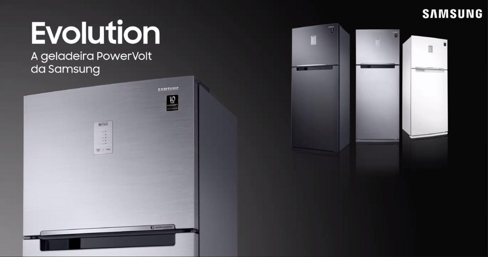 Samsung | Nova linha Evolution de geladeiras traz novidades e design moderno