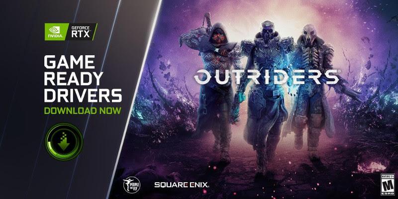NVIDIA | O novo Game Ready Driver traz DLSS a Outriders e Reflex a Rainbow Six Siege