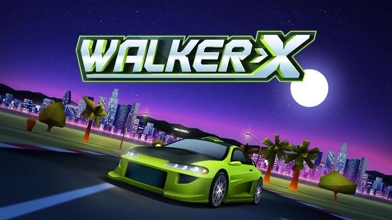 Aquiris | Nova DLC Walker-X traz novidades na versão mobile de Horizon Chase