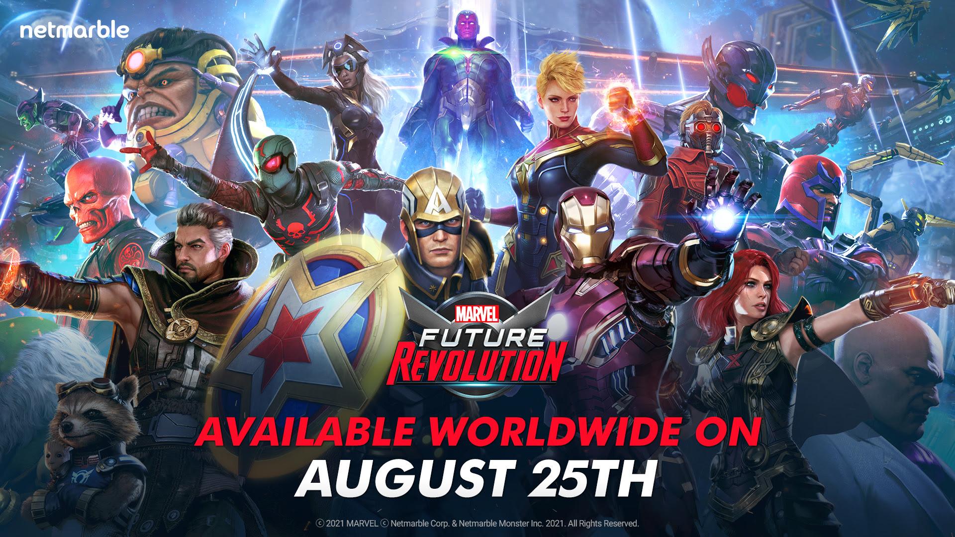 Netmarble | MARVEL Future Revolution chega oficialmente em agosto